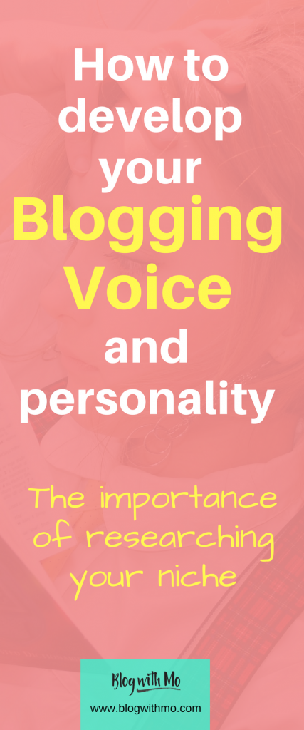 Learn how to develop your blogging voice and tailor your unique personality to blog for money. You will also learn how to research your blogging niche.