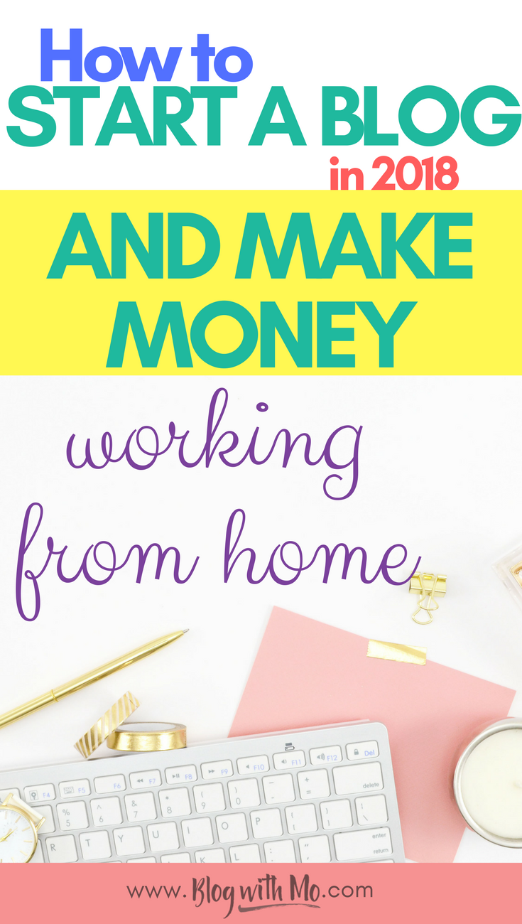 How to start a blog to make money: This start a blog for beginners tutorial will teach you everything you need to know to make money blogging, from finding blog topics that convert to cash money to getting traffic to your blog so you can stay at home with your kids and make an income online.