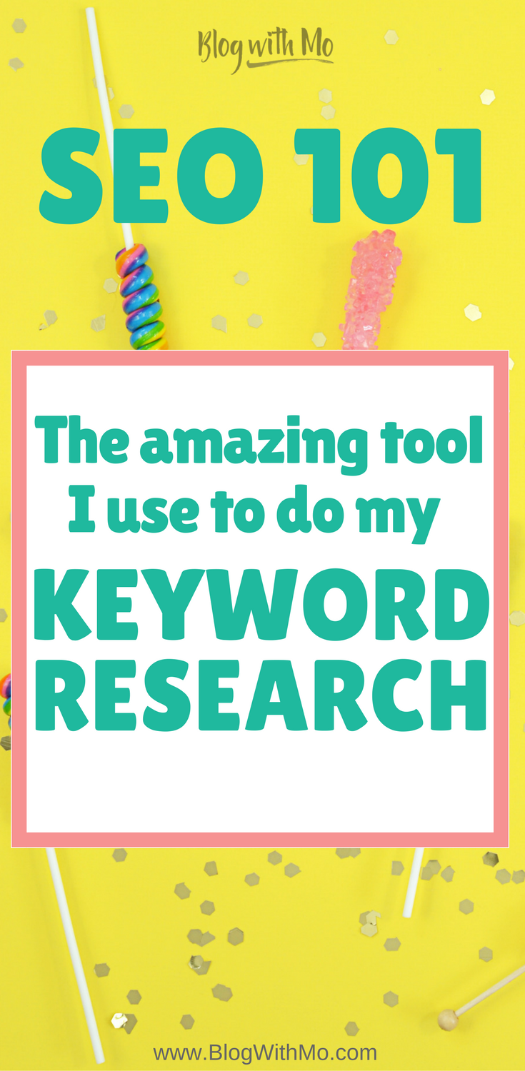 This keyword research tool totally upped my blog traffic and my content strategy! If you're looking for a keyword planner, this is it. It' SEO for beginners and for SEO expert looking for an optimization tool for blogging.