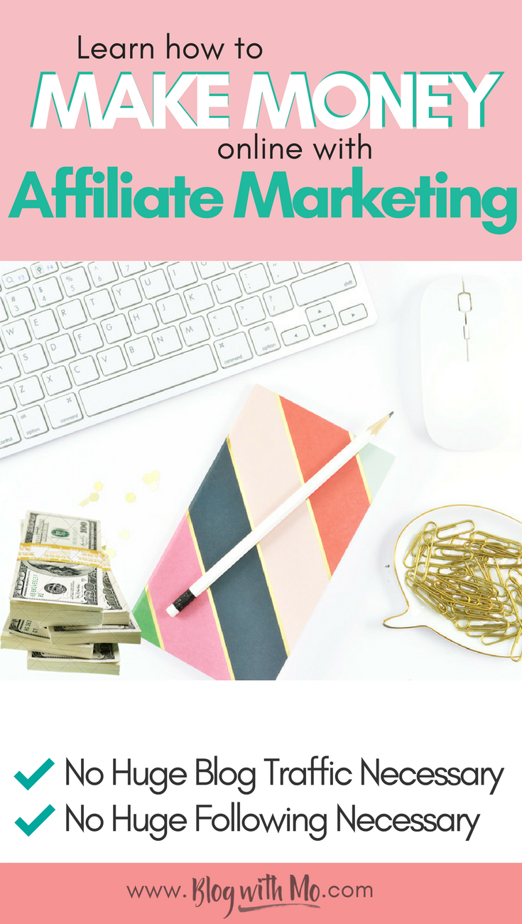 Affiliate marketing for beginners. Learn how to do affiliate marketing on Pinterest and get my best tips for affiliate marketing without a blog.