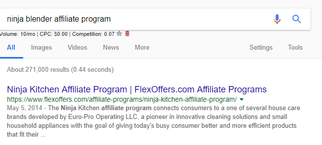 affiliate network example