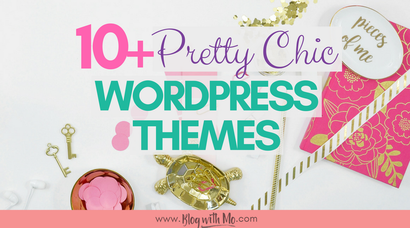 12+ Free and Premium Chic WordPress Themes for Bloggers