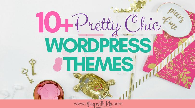 15+ Amazing Feminine Blog Themes – Free and Premium Chic WordPress Themes for Bloggers