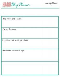 HABO Blog Planner