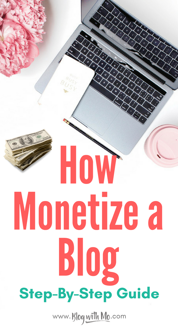 Learn how to monetize a blog by following my step-by-step guide to making money blogging. Earning an income online is easier when you have a strategy in place and this one has been tested across multiple blog niches.