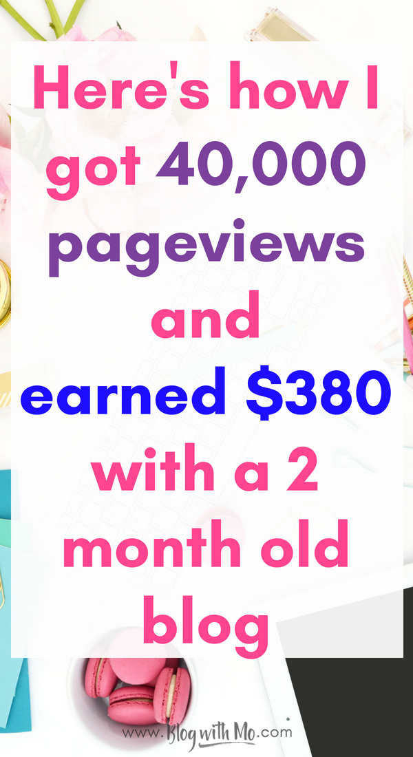 Can you make money blogging? You sure can! I break down the strategy I use to make money on a brand new blog in my new blog income report. Follow along as I grow this blog to a fulltime income!