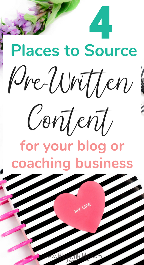 Four places to buy articles or done for you content for your blog. Check out these plr articles, freelance writers and gigs that can help your blog to grow and make more money online. #blogging