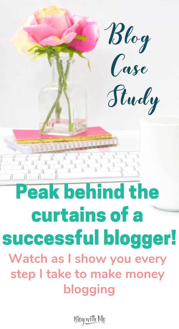 Blog case study: Get behind the scenes access to a blog strategy that works! Watch and learn as I share each step I take in real time to grow and monetize a self help blog from scratch. #bloggingtips