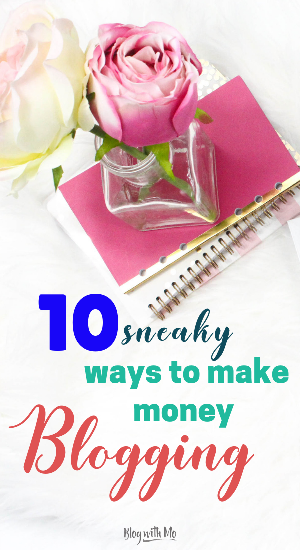 10 ingenious ways to make money blogging with the online course platform Thinkific. Think you can only create a course with an elearning platform? Think again! Here's even more way to get the most out of your money and earn a fulltime income as a blogger. #blogging #bloggingtips