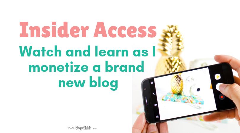 Self Help Blog Case Study: Watch Me Start a New Business Blog