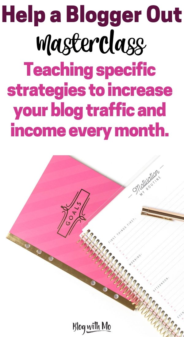 Take a blogging class this month and learn how to increase your blog traffic. Beginner blogging tips to make money blogging. #blogging