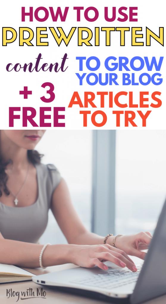 free plr articles for blog traffic