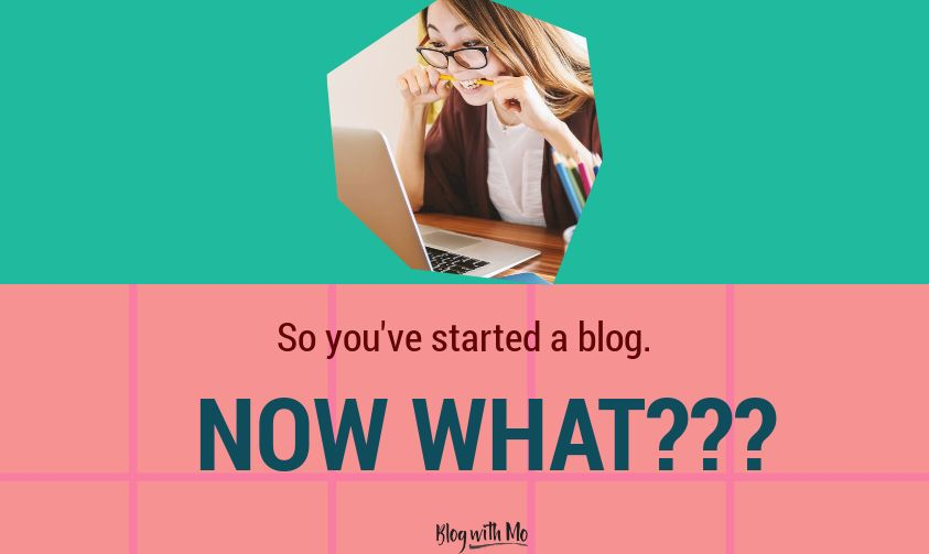 How to Grow a Blog from Scratch: You Started a Blog, Now What?