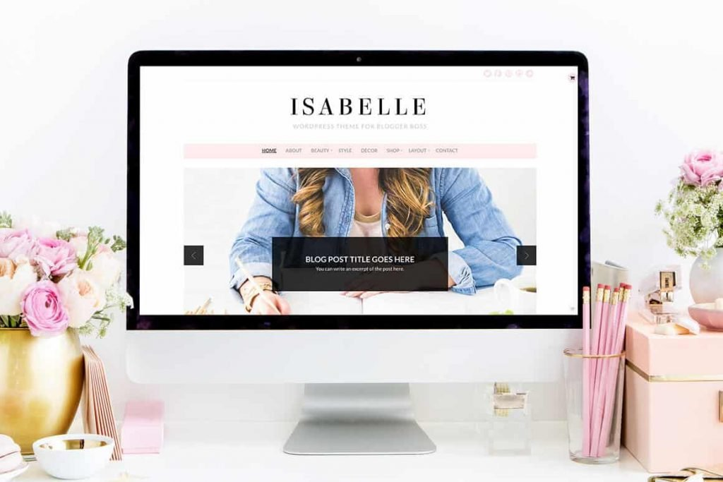 15+ Amazing Feminine Blog Themes - Free and Premium Chic Wordpress Themes for Bloggers