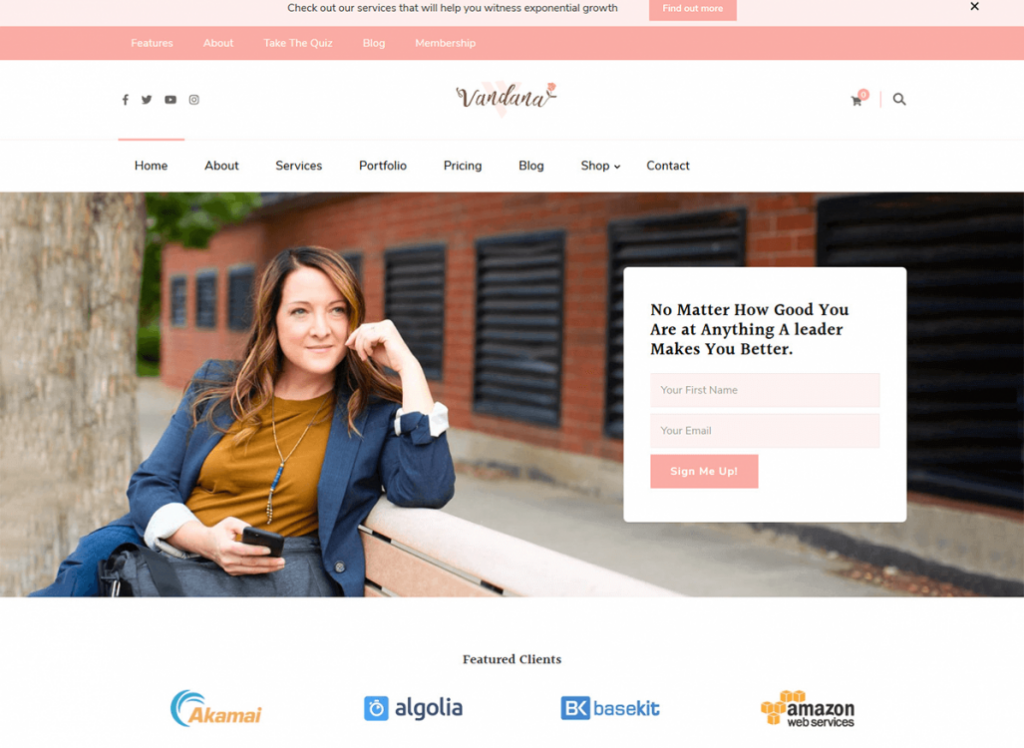 Vandana-WordPress-Theme