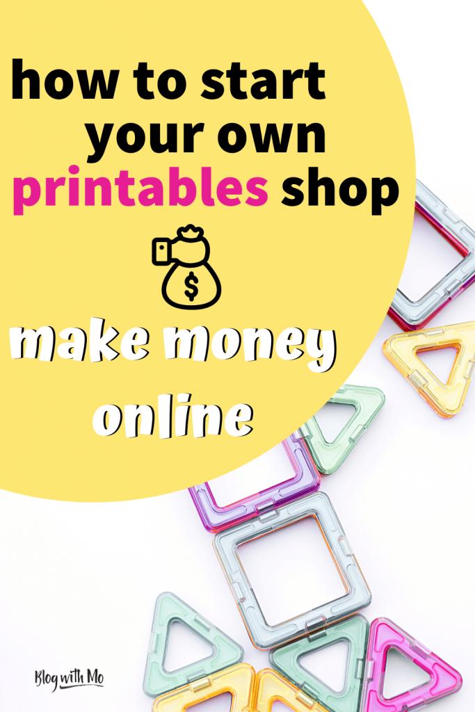selling printables