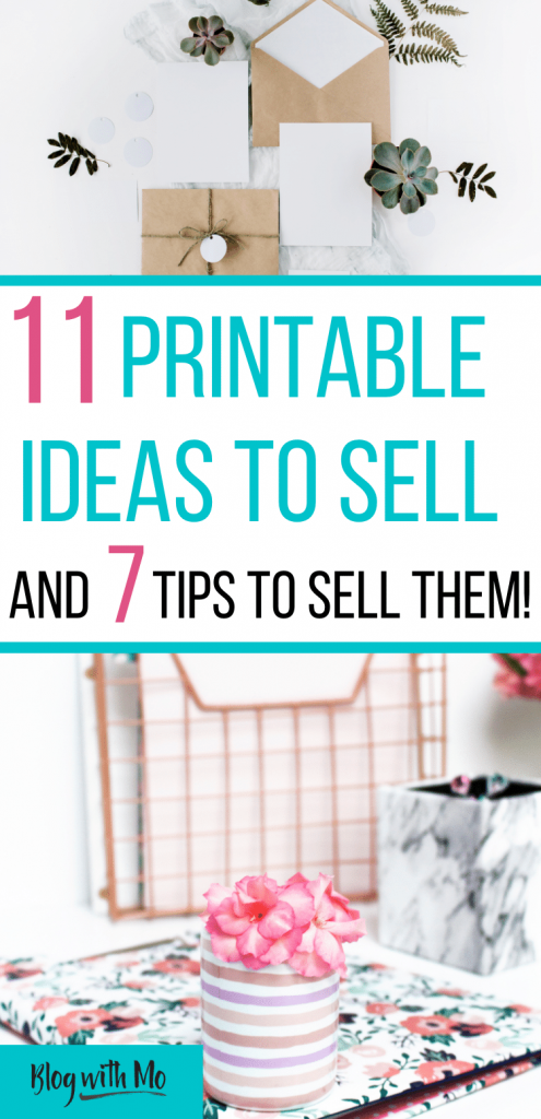 printable ideas to sell