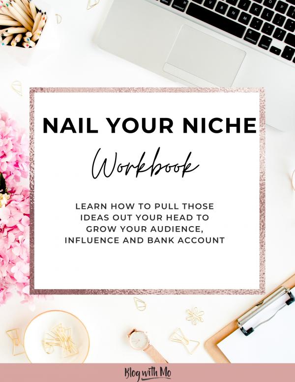 Nail Your Niche WorkBook