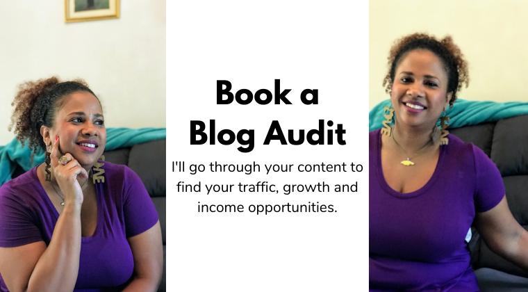 Book a blog audit